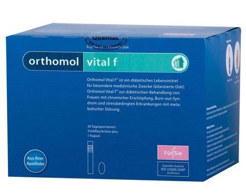 Orthomol femin инструкция по применению